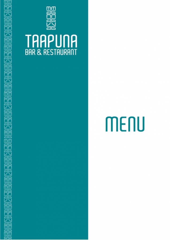 Taapuna-Menu... -octobre 2020