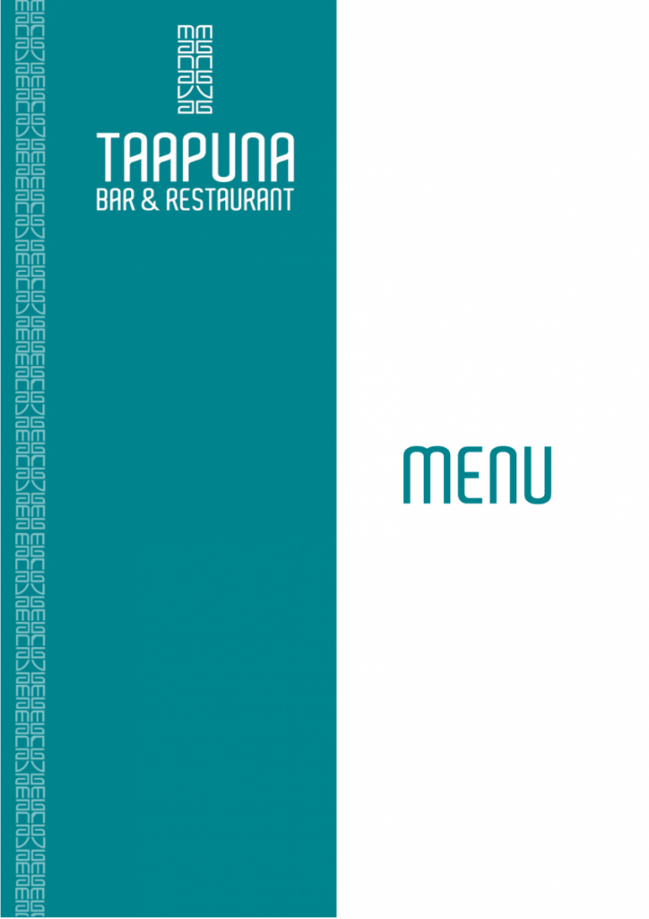 Taapuna-Menu... -DECEMBRE 2020